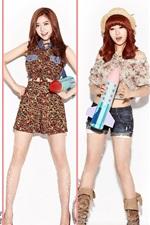 Preview iPhone wallpaper DalShabet korea music girls 01