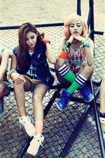 Preview iPhone wallpaper Five korea music girls