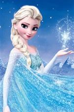 Vorschau des iPhone Hintergrundbilder Eingefroren, Disney-Film 2013, Prinzessin Elsa