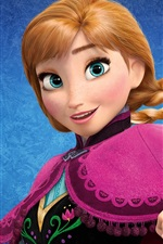 Preview iPhone wallpaper Frozen, Walt Disney movie 2013
