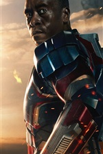 Preview iPhone wallpaper James Rhodes in Iron Man 3
