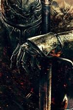 iPhone fondos de pantalla Dark Souls 2 HD
