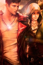 Preview iPhone wallpaper DmC, Devil May Cry 5, art, game