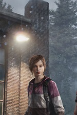 Preview iPhone wallpaper Father and daughter, The Last of US