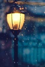 미리보기 iPhone 배경 화면 손전등, 조명, 밤, 눈, 겨울