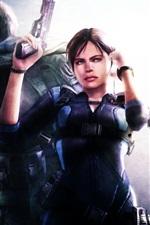 Resident Evil: Revelations, menino e menina