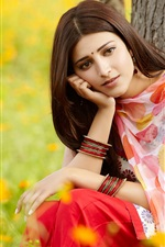 Preview iPhone wallpaper Shruti Haasan in Ramaiya Vastavaiya