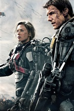Vorschau des iPhone Hintergrundbilder Tom Cruise in Edge of Tomorrow