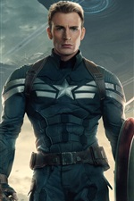 Preview iPhone wallpaper 2014 Captain America: The Winter Soldier