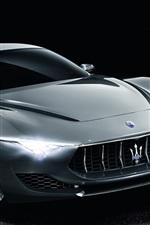 Preview iPhone wallpaper 2014 Maserati Alfieri Concept supercar