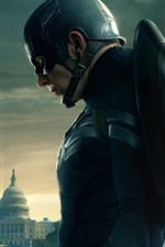 Preview iPhone wallpaper 2014 movie, Captain America: The Winter Soldier