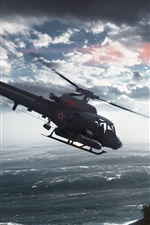 Preview iPhone wallpaper Battlefield 4, Paracel Storm, Helicopters
