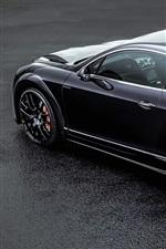 Bentley Continental GT ONYX black car back view