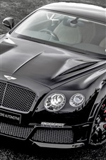 Preview iPhone wallpaper Bentley Continental GT ONYX supercar front view