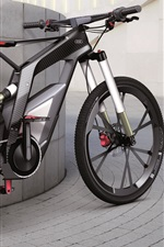 iPhone fondos de pantalla Negro Audi bicicleta