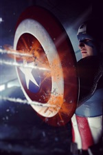 Preview iPhone wallpaper Captain America: The Winter Soldier 2014 HD