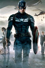 Preview iPhone wallpaper Captain America: The Winter Soldier HD