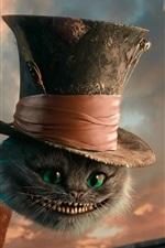 Vorschau des iPhone Hintergrundbilder Cheshire Cat, Alice im Wunderland