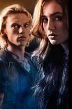 Preview iPhone wallpaper The Mortal Instruments: City of Bones HD