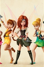 Preview iPhone wallpaper The Pirate Fairy, 2014 Disney movie, beautiful girls