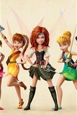 Vorschau des iPhone Hintergrundbilder Die Piraten-Fee 2014 Disney-Film, schöne Mädchen