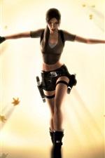 Preview iPhone wallpaper Tomb Raider, Lara Croft beautiful dance