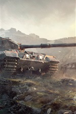 Preview iPhone wallpaper World of Tanks British tanks