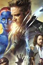 Vorschau des iPhone Hintergrundbilder X-Men: Days of Future Past HD