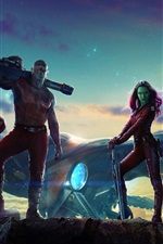 2014 movie, Guardians of the Galaxy