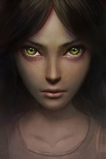 Preview iPhone wallpaper Alice Madness Returns, art design