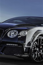 Preview iPhone wallpaper Bentley Continental GT ONYX black supercar