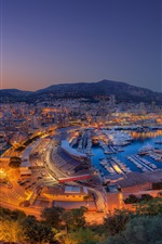 Preview iPhone wallpaper Formula 1 Grand Prix 2013, the Port Hercule, Monaco