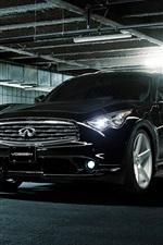 Infiniti FX35S Vossen black car