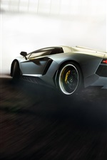 Lamborghini Aventador supercar high speed