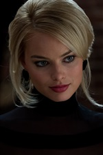 Preview iPhone wallpaper Margot Robbie 01