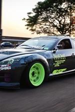 Mazda RX-8 drift, sports car