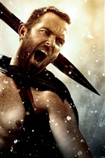 Preview iPhone wallpaper Sullivan Stapleton, 300: Rise of an Empire