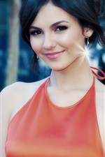 Preview iPhone wallpaper Victoria Justice 17
