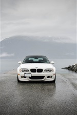 Preview iPhone wallpaper BMW M3 E46 yellow black white cars