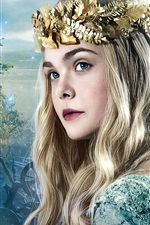 Preview iPhone wallpaper Elle Fanning, Maleficent