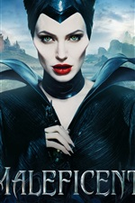 Preview iPhone wallpaper Maleficent 2014 movie