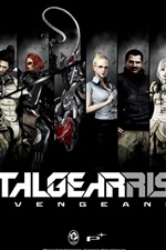 Preview iPhone wallpaper Metal Gear Rising Revengeance, PC game HD