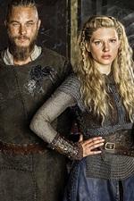 Preview iPhone wallpaper Vikings TV series