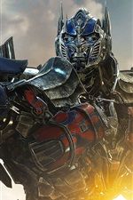 Preview iPhone wallpaper 2014 Transformers: Age of Extinction, Optimus Prime