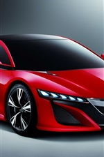 Preview iPhone wallpaper Acura Nsx concept red car