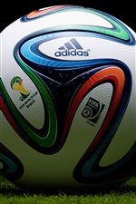 Preview iPhone wallpaper Adidas football, Brazil 2014 World Cup