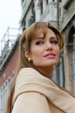 Preview iPhone wallpaper Angelina Jolie 01
