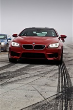 Preview iPhone wallpaper BMW M5 M6 red blue black cars