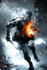Preview iPhone wallpaper Battlefield 3: Aftermath