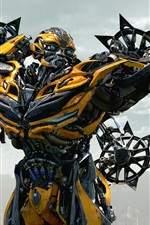 Preview iPhone wallpaper Bumblebee Transformers 4